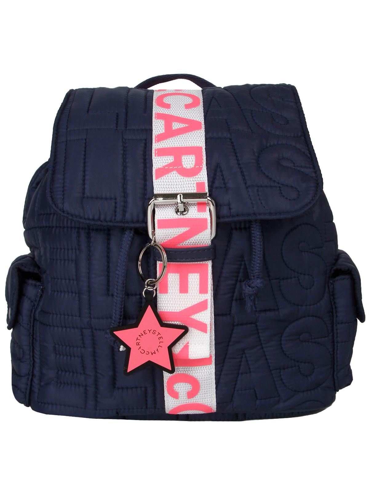 Рюкзак Stella McCartney 2280562 синего цвета