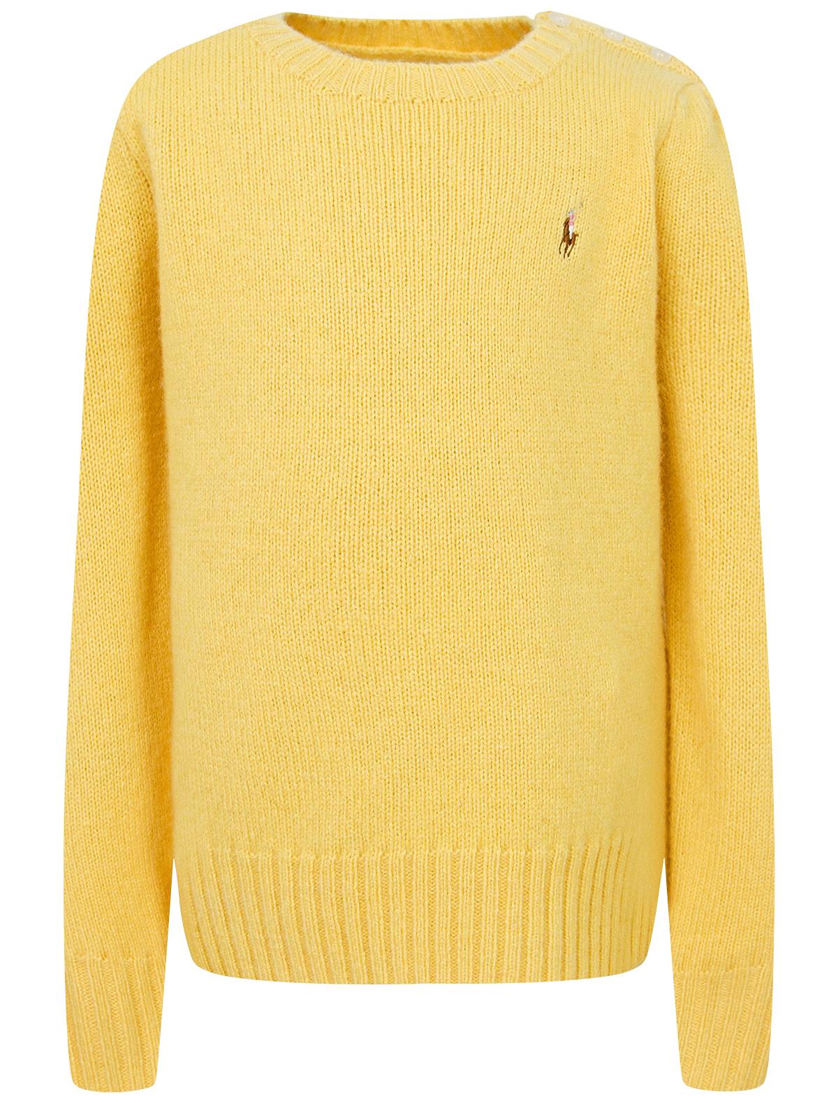 Купить 2174114, Джемпер Ralph Lauren, желтый, 1262809980719