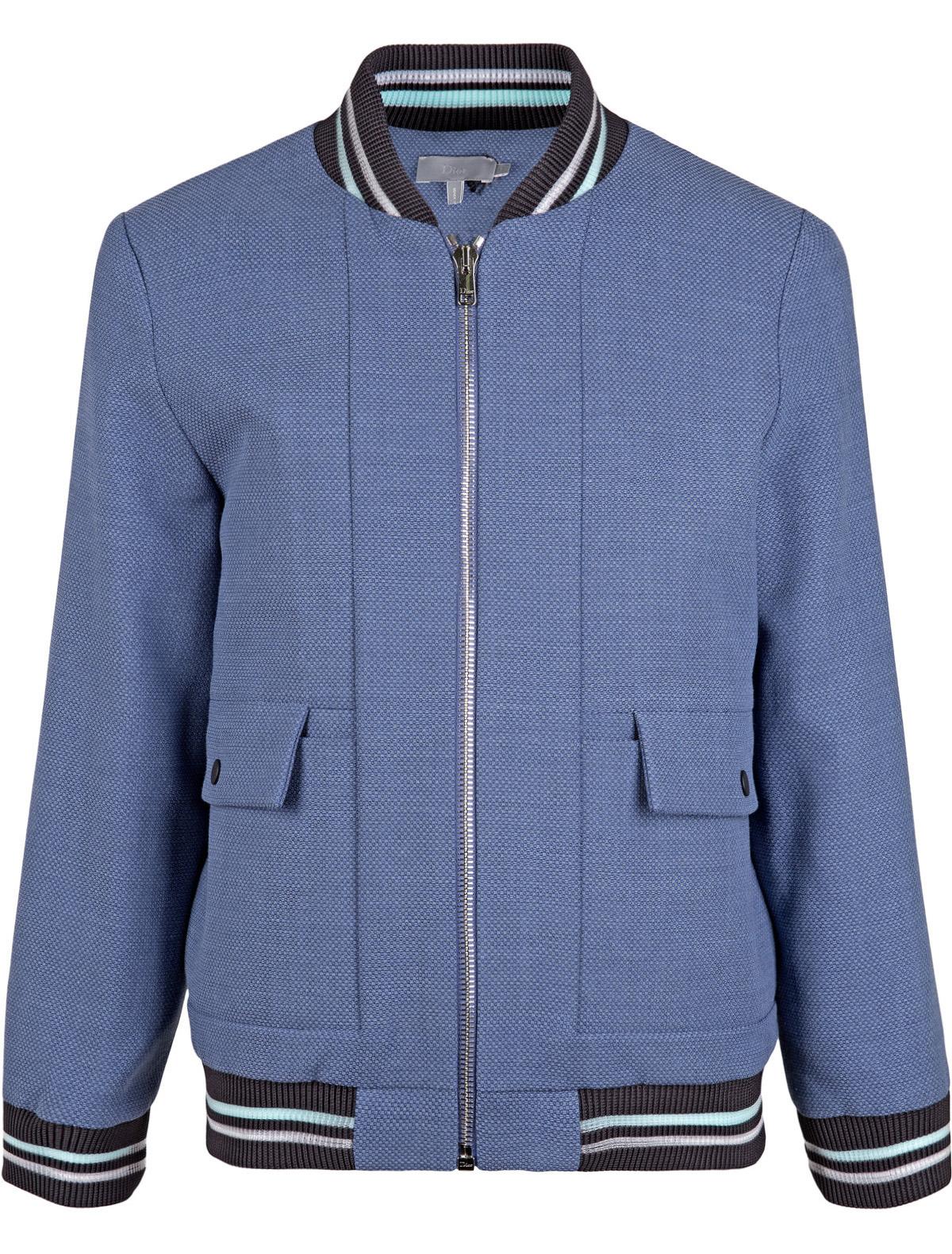 Купить 1873798, Куртка Dior, синий, Мужской, 1071419770050
