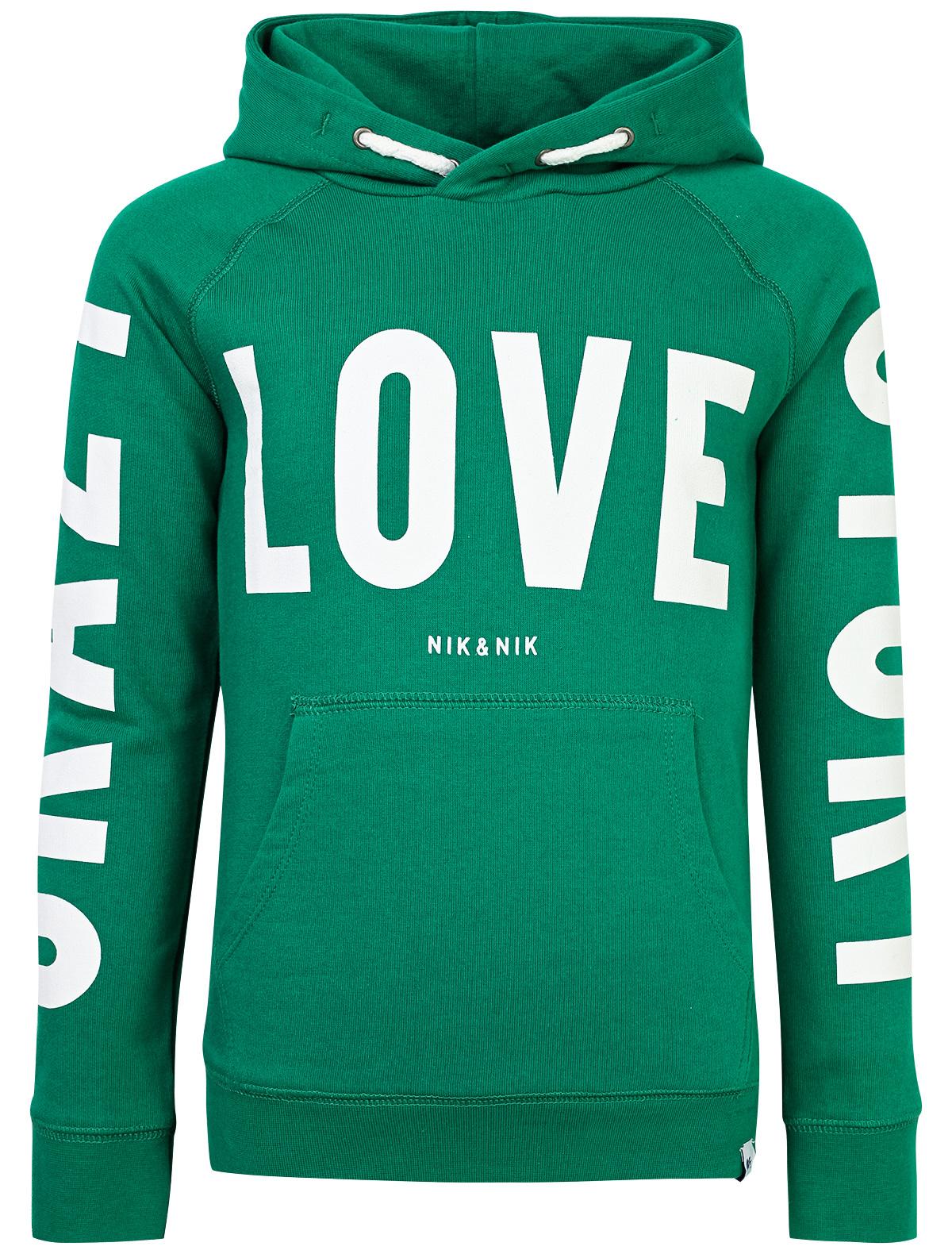 Купить 1859651, Худи NIK & NIK, зеленый, Женский, 0092209880415