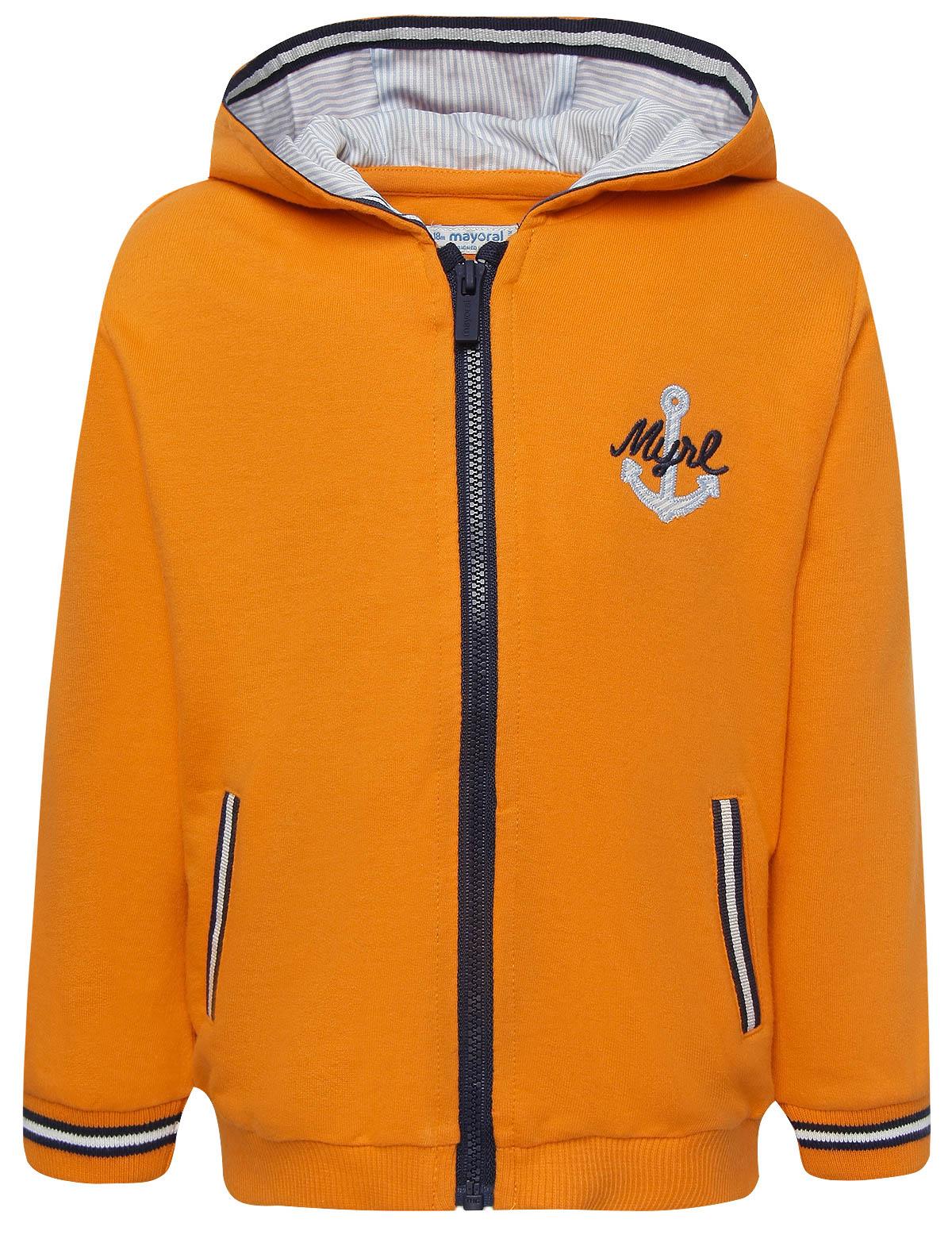 Купить 1857949, Толстовка Mayoral, оранжевый, Мужской, 0072419871458