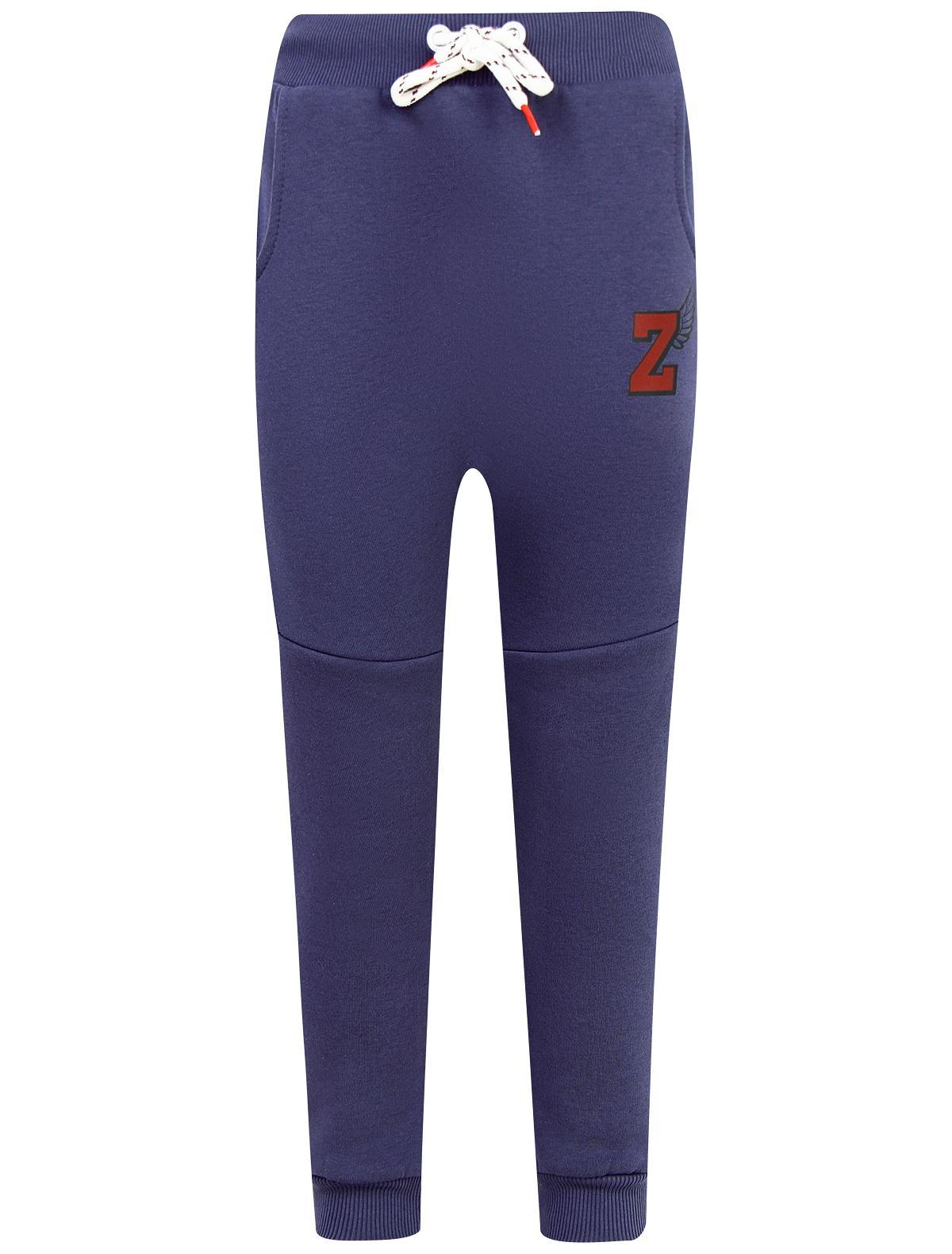 Купить 1934086, Брюки спортивные ZOMBIE DASH, синий, 4241429880019