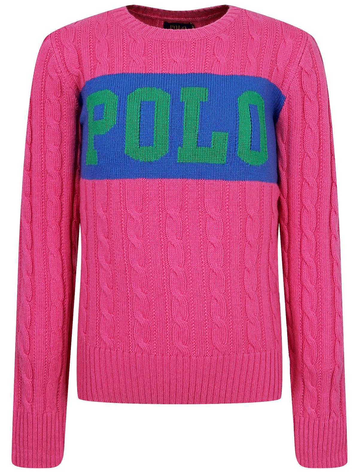Купить 2252080, Джемпер Ralph Lauren, розовый, Женский, 1264509081840