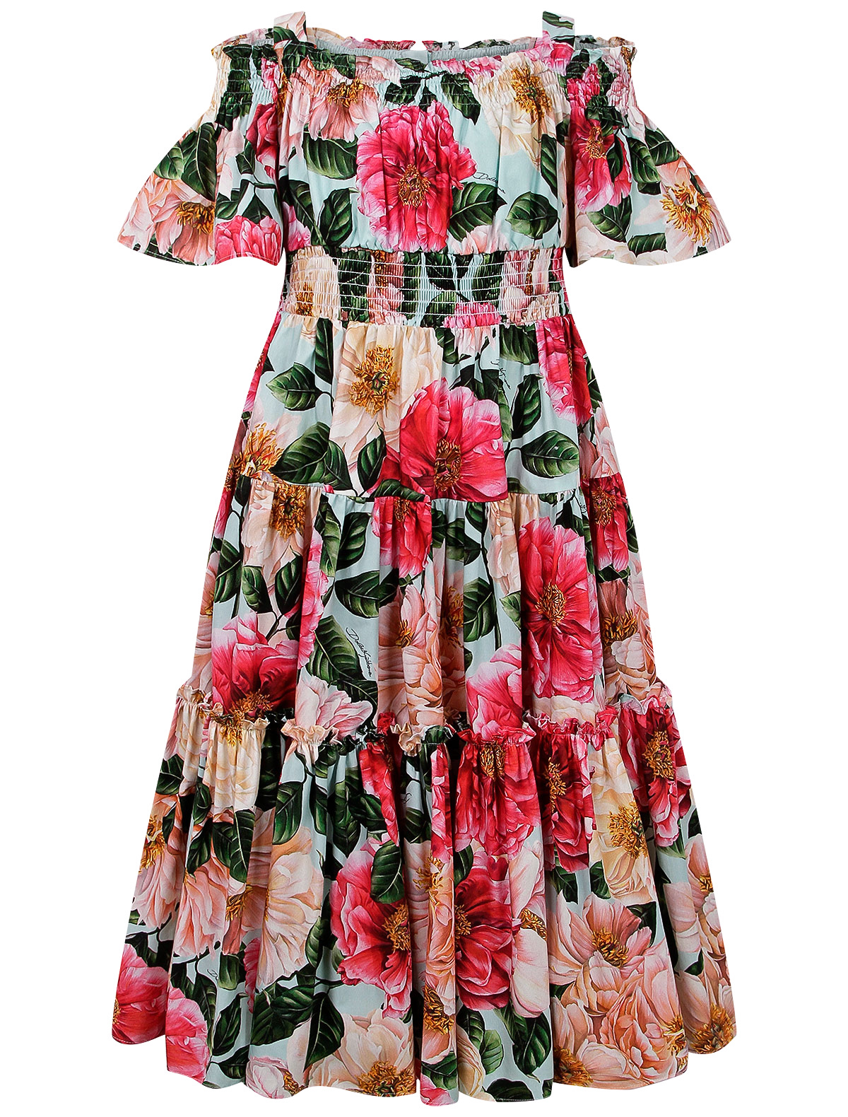 Купить 2295487, Платье Dolce & Gabbana, розовый, Женский, 1054609170434