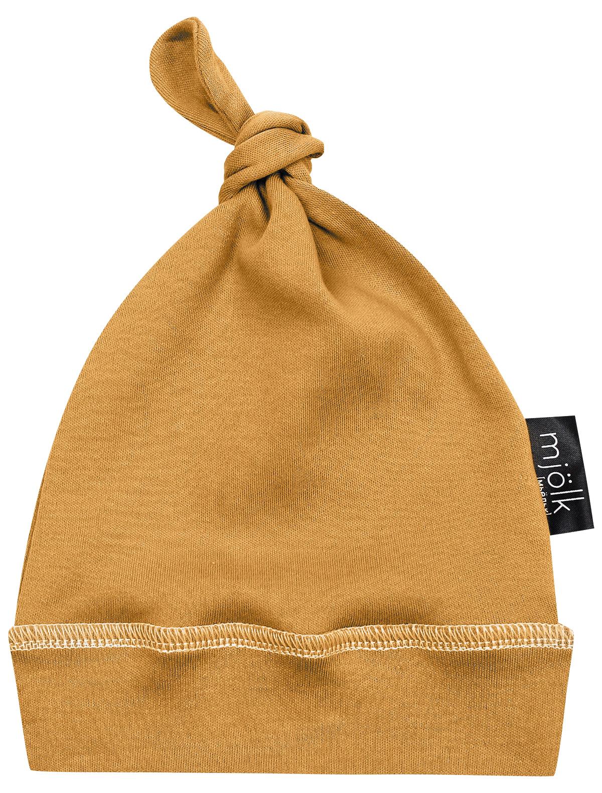 Купить 2286911, Шапка Mjolk, желтый, 1354520170101