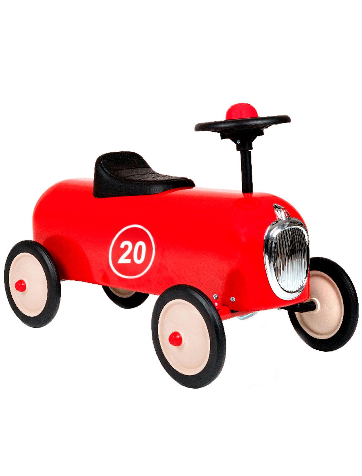 Купить 2202586, Машинка детская Baghera, красный, 7681320070015