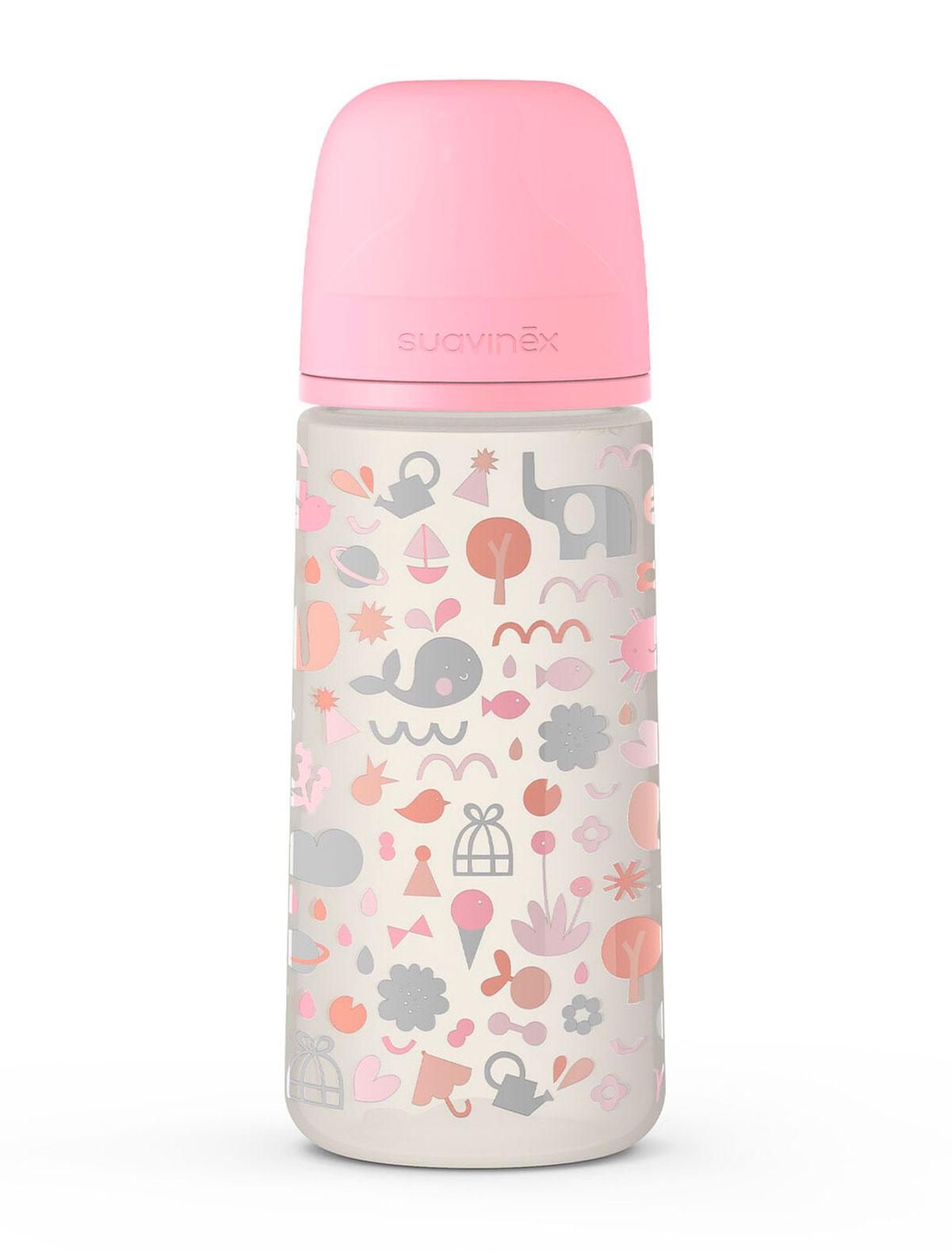 Бутылочка Suavinex 2285349 розового цвета