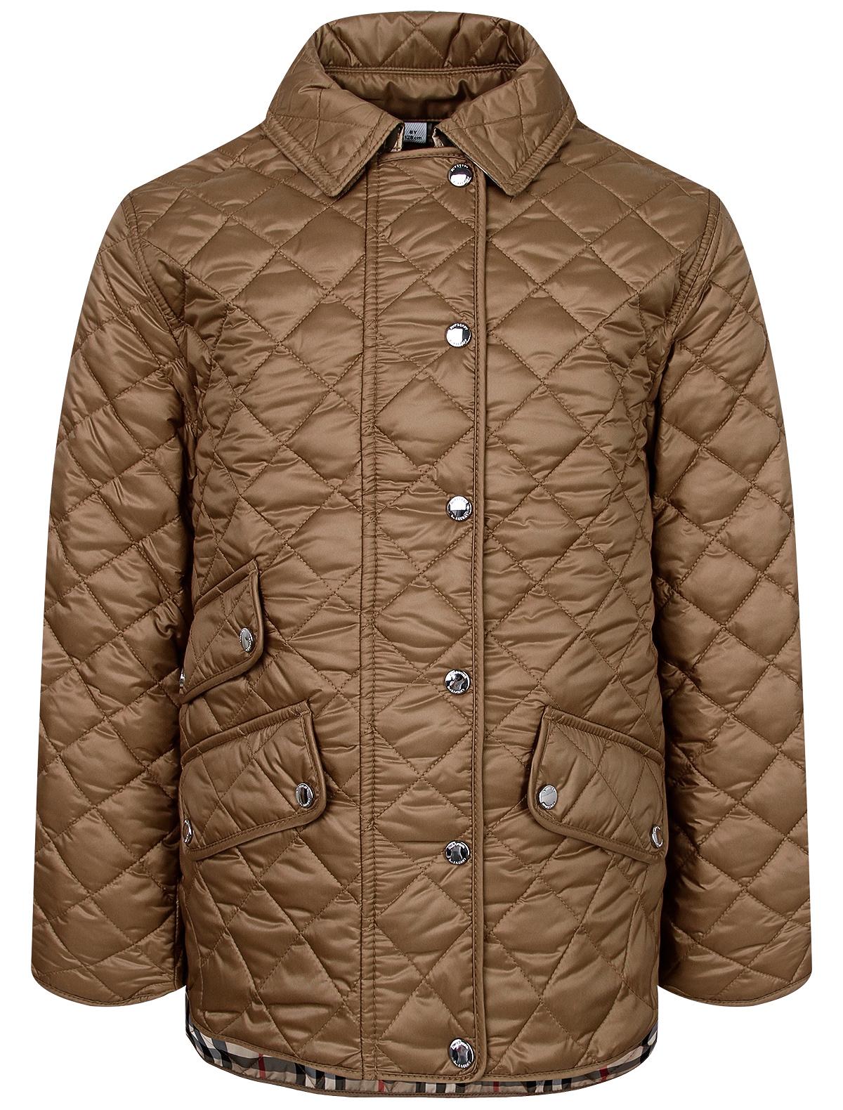 Купить 2236582, Куртка Burberry, коричневый, Женский, 1074509081456