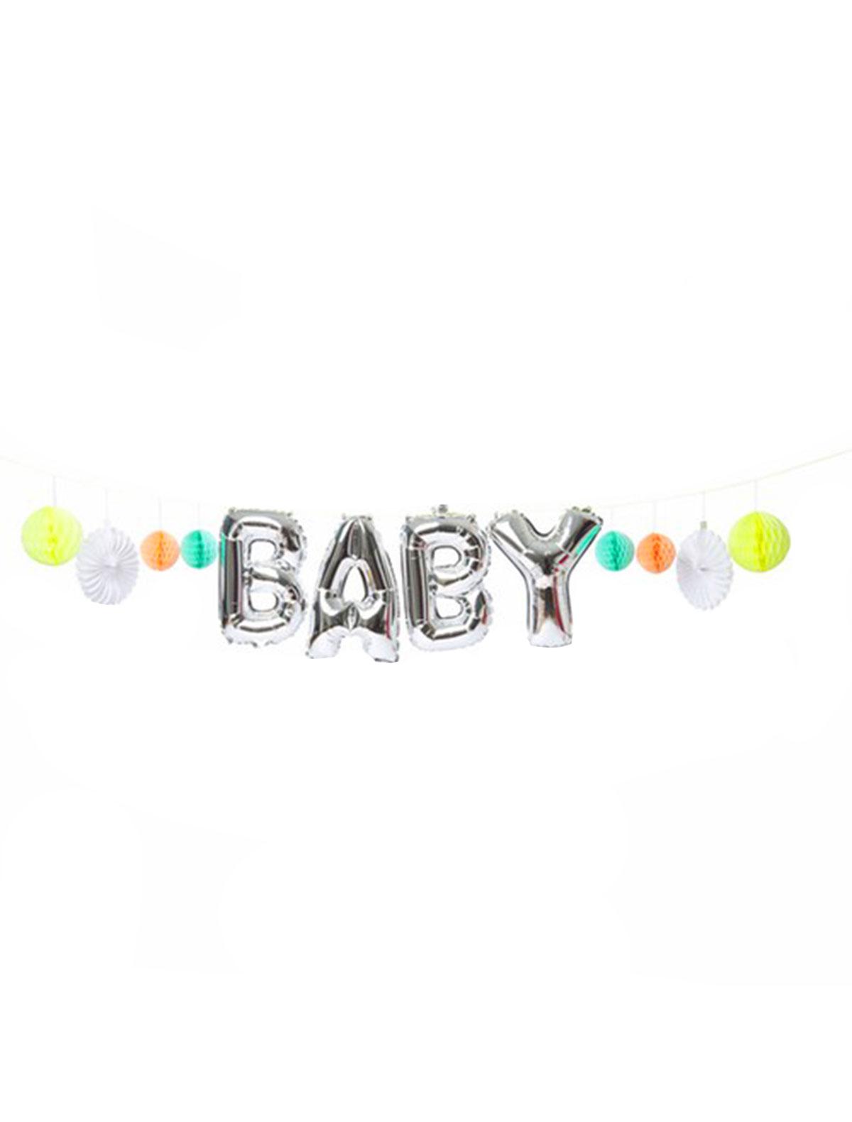 Купить 2221730, Воздушный шар Meri Meri, разноцветный, 6704520080293