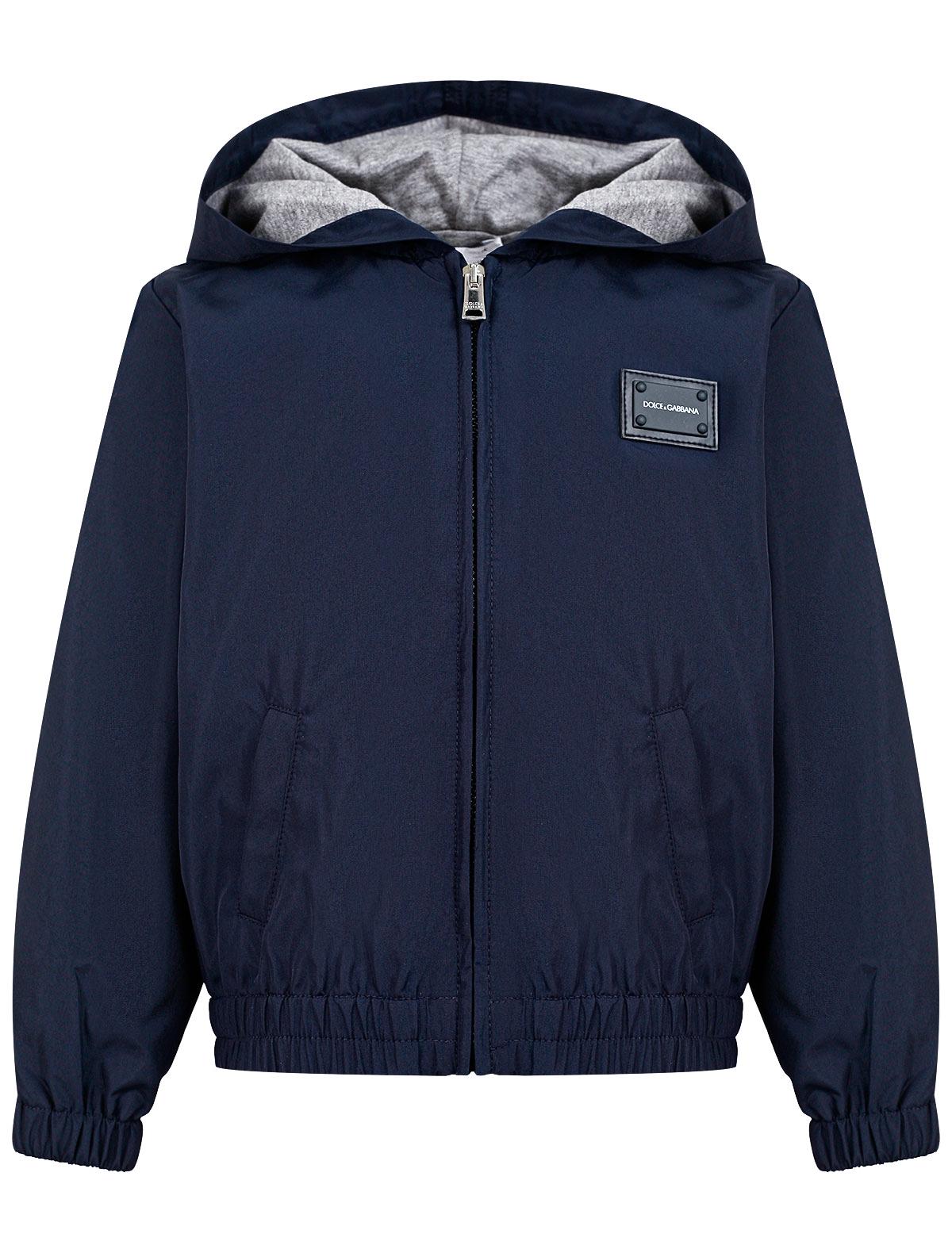 Куртка Dolce & Gabbana синего цвета