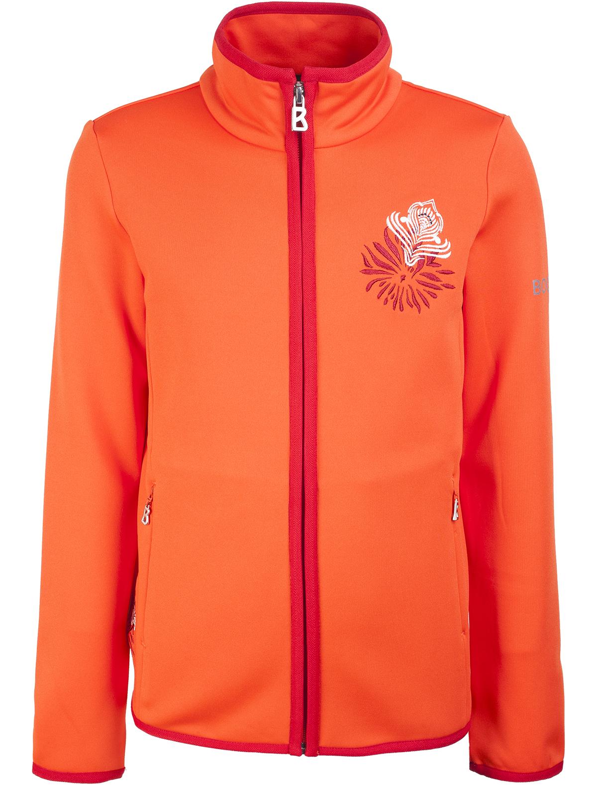 Купить 1857898, Толстовка Bogner, оранжевый, Женский, 0072409680015