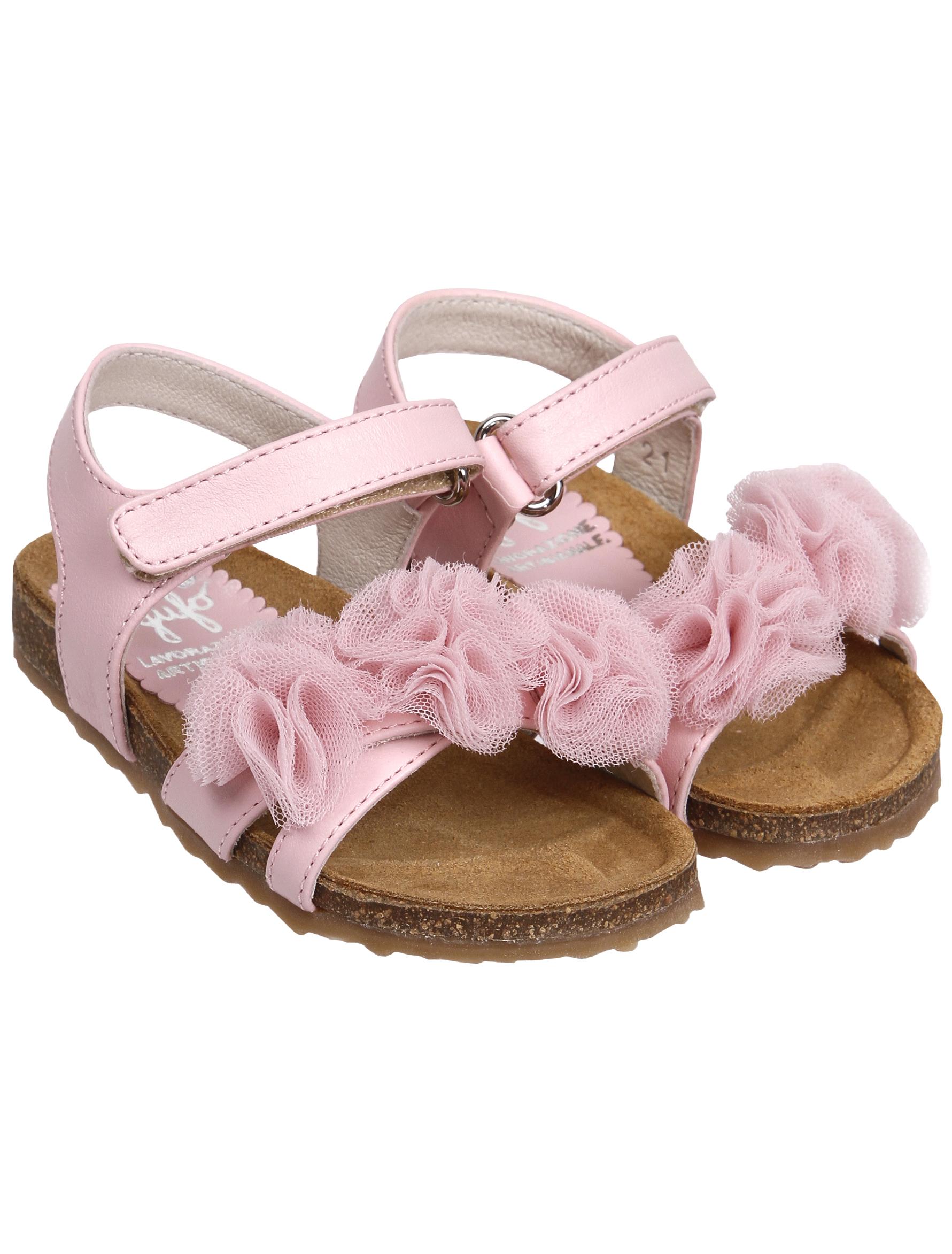 Купить 1952977, Босоножки Il Gufo, розовый, Женский, 2162609970431