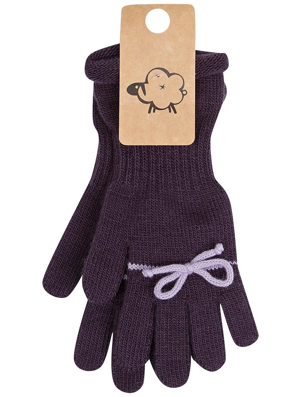 Купить 2268130, Перчатки WOOL & COTTON, фиолетовый, Женский, 1194509080157
