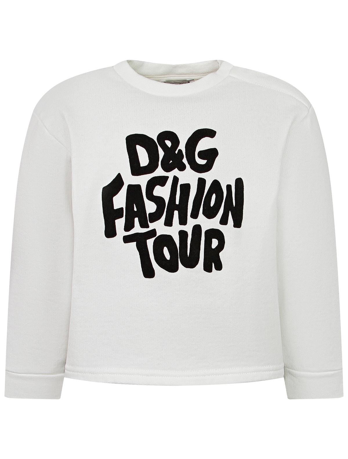 Купить 2324980, Свитшот Dolce & Gabbana, белый, Женский, 0084509180128