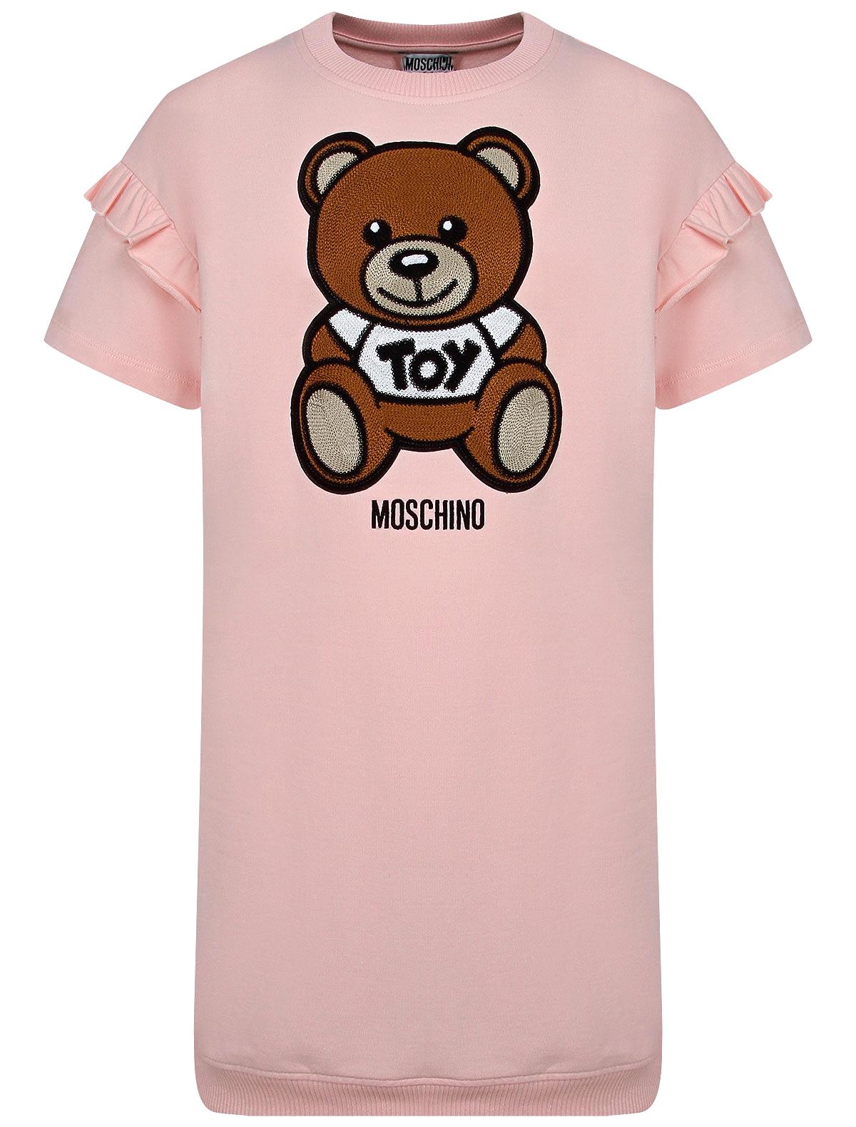 Купить 2278500, Платье Moschino, розовый, Женский, 1054509173856