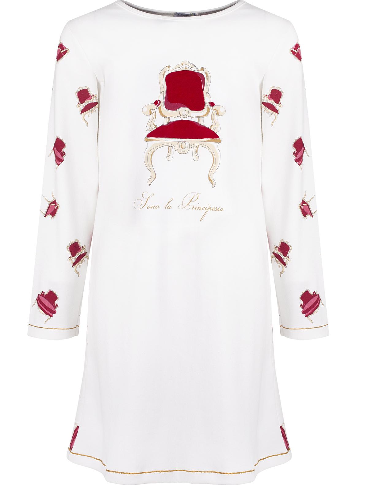 Купить 1929128, Ночная рубашка Sottocoperta, разноцветный, Женский, 3342109681146