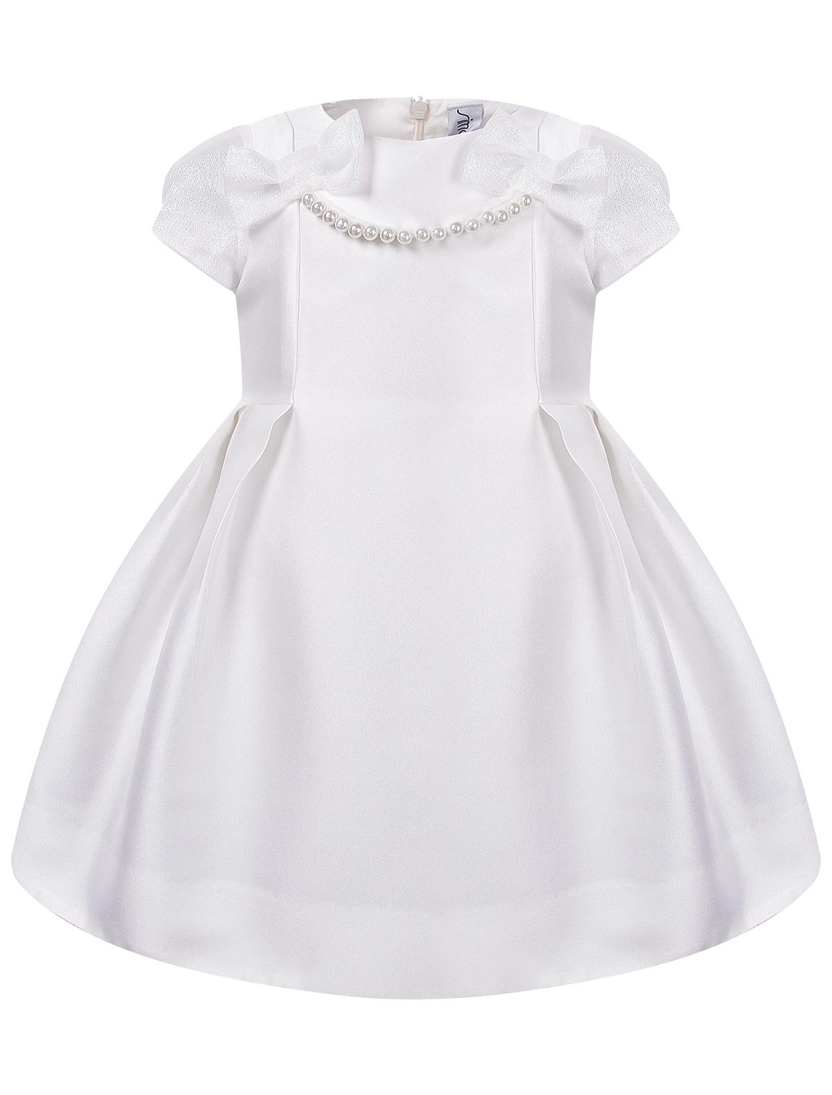 Купить 2041047, Платье Simonetta, белый, Женский, 1051209980067