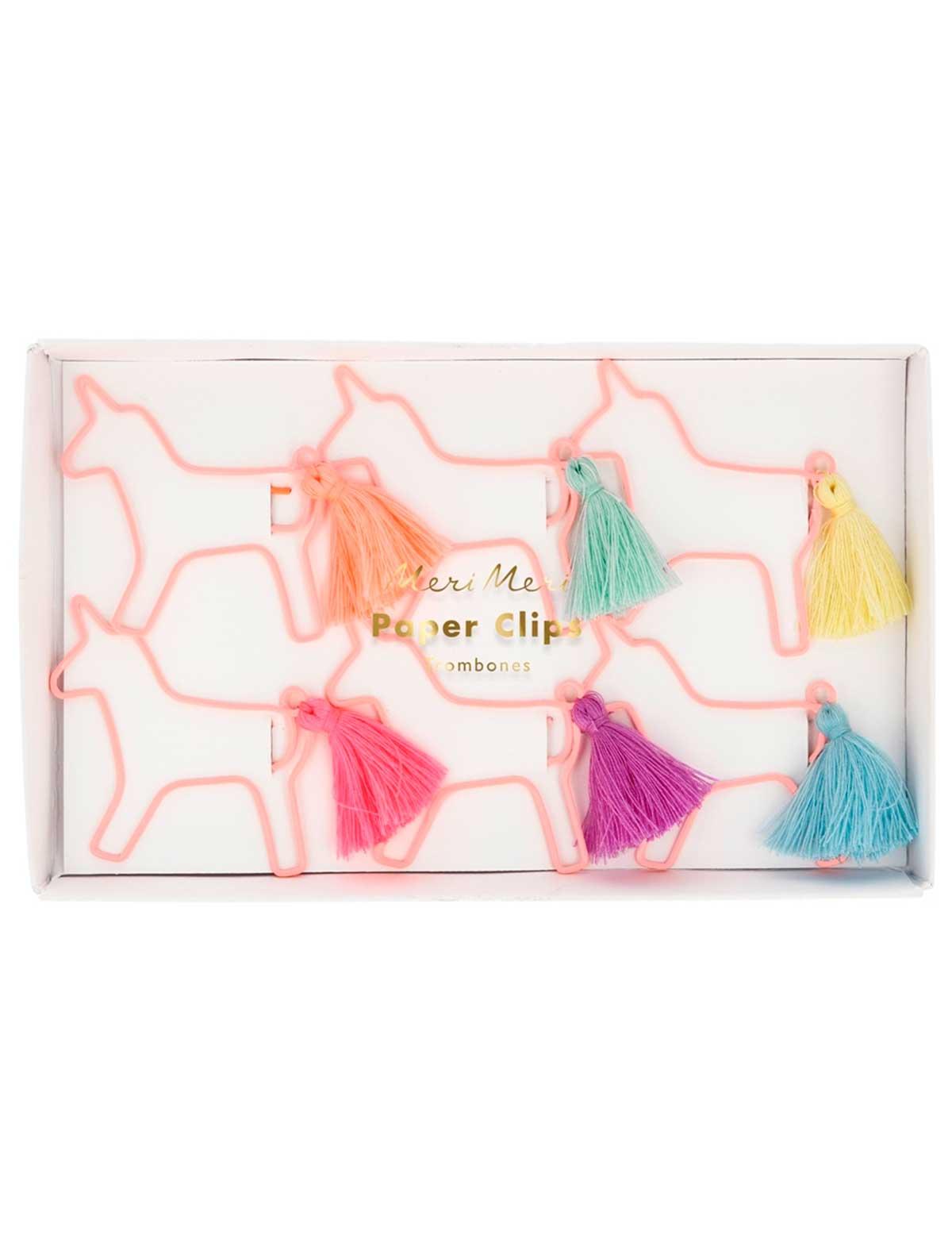 Купить 2260411, Скрепки Meri Meri, розовый, 6604520080067