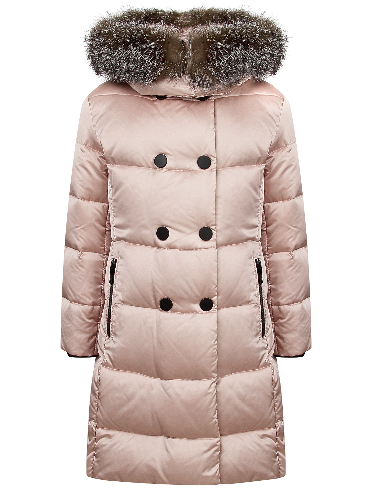 Купить 2121281, Пальто Jums Kids, розовый, Женский, 1122609980060