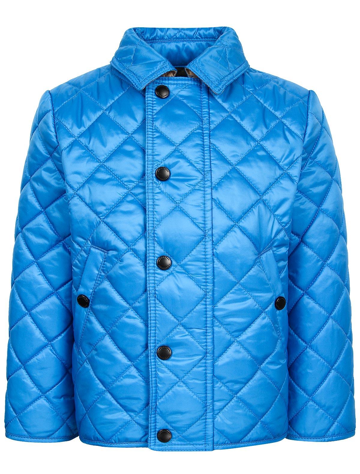 Купить 1873839, Куртка Burberry, синий, Мужской, 1071419870354