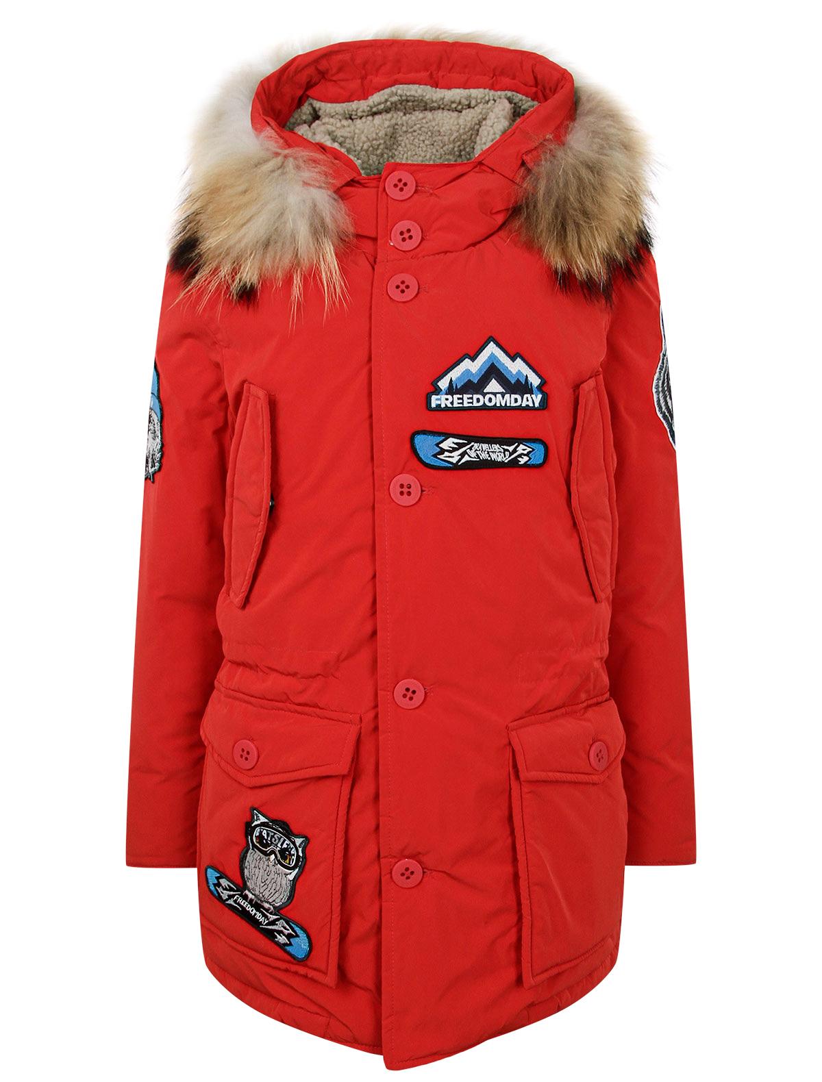 Купить 2342537, Куртка FREEDOMDAY, красный, Мужской, 1074519181603