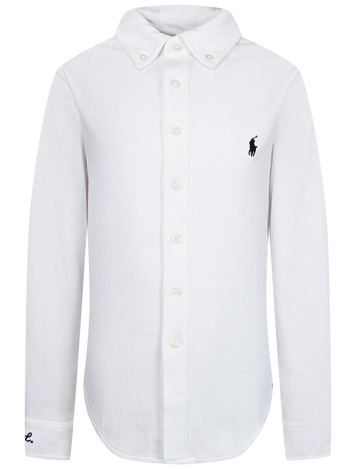 Купить 2251444, Рубашка Ralph Lauren, белый, Мужской, 1014519086003