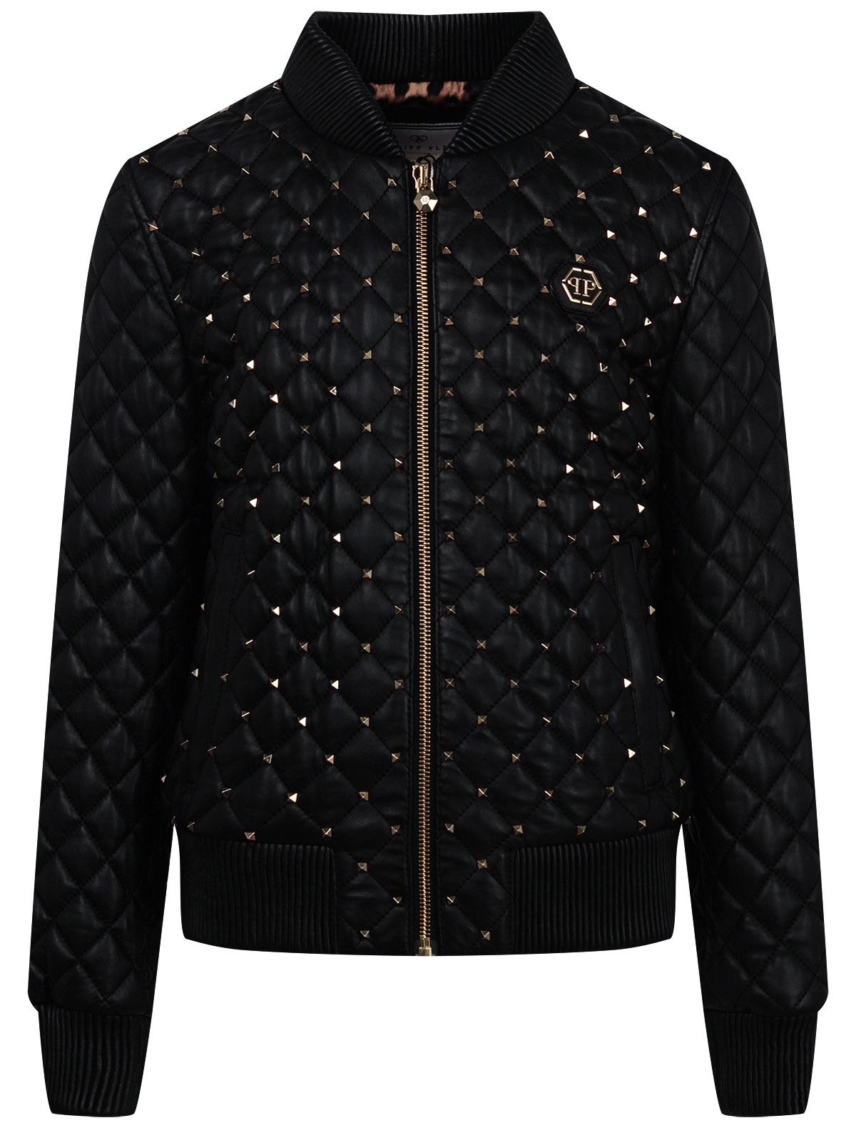Купить 2242994, Куртка Philipp Plein, черный, Женский, 1074509082071