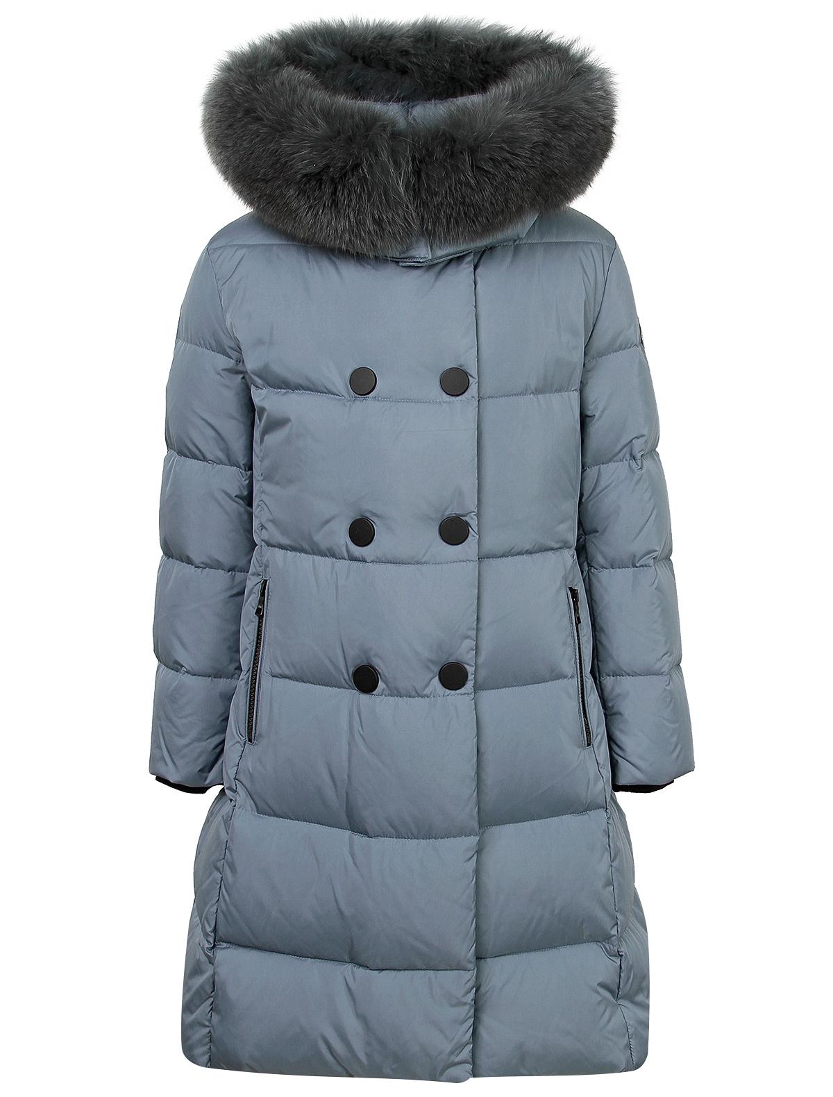 Купить 2121256, Пальто Jums Kids, голубой, Женский, 1121509980064