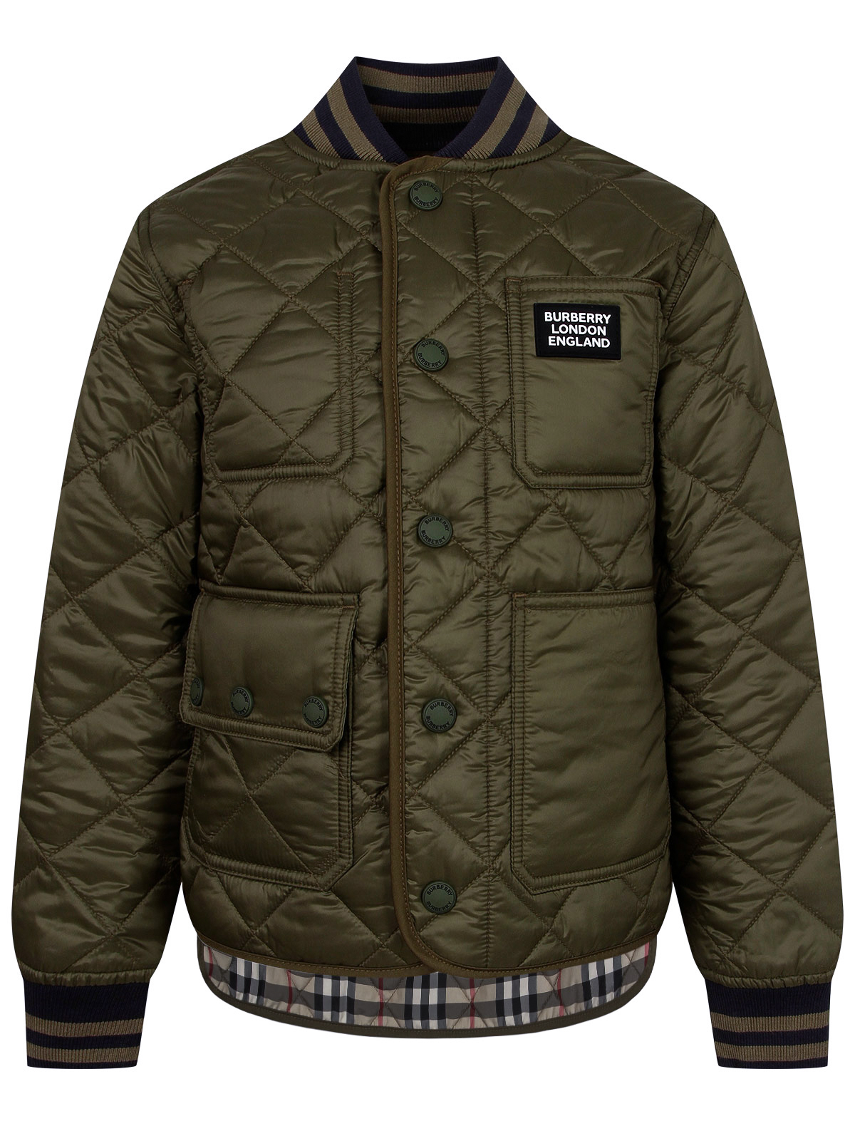 Купить 2236681, Куртка Burberry, разноцветный, Мужской, 1074519082443