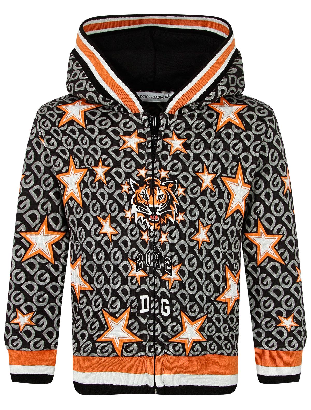 Купить 2264196, Толстовка Dolce & Gabbana, черный, Мужской, 0074519083625