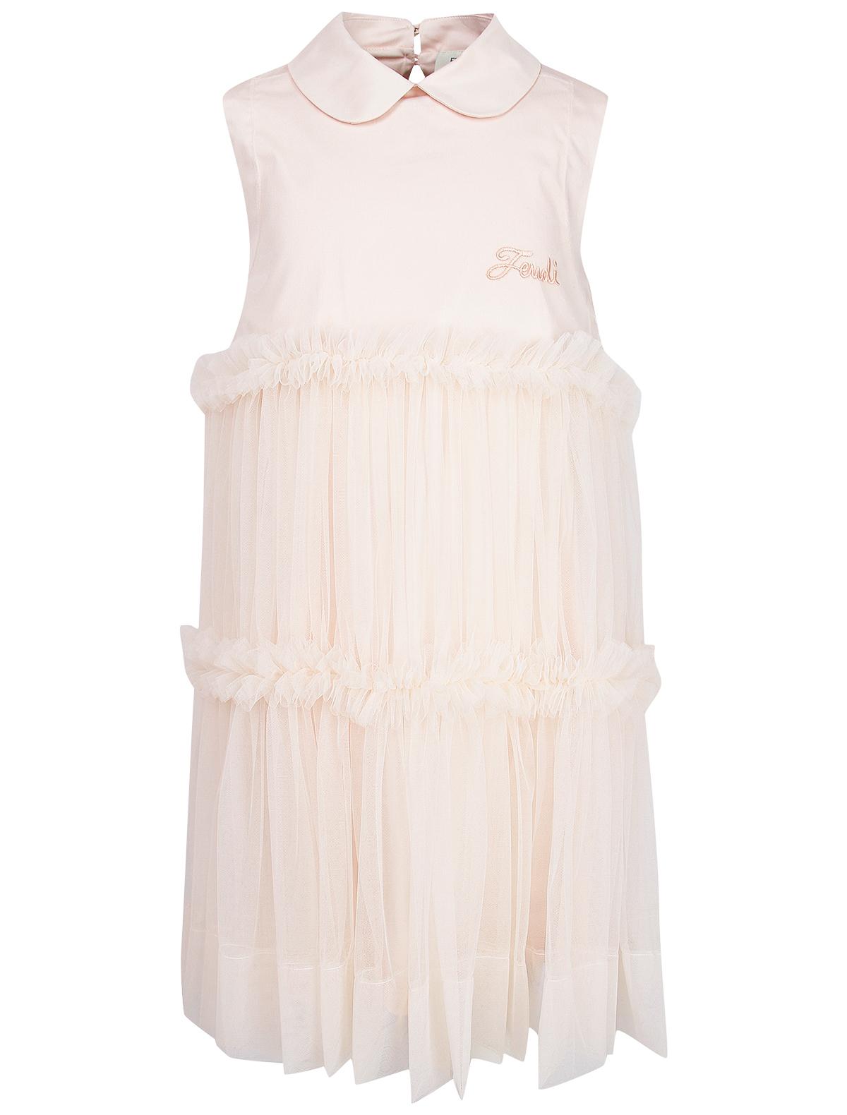 Купить 2019437, Платье Fendi, розовый, Женский, 1052609971075