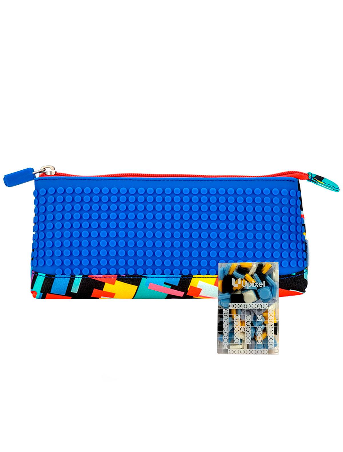 Купить 2220732, Пенал Upixel, синий, 1684528080097