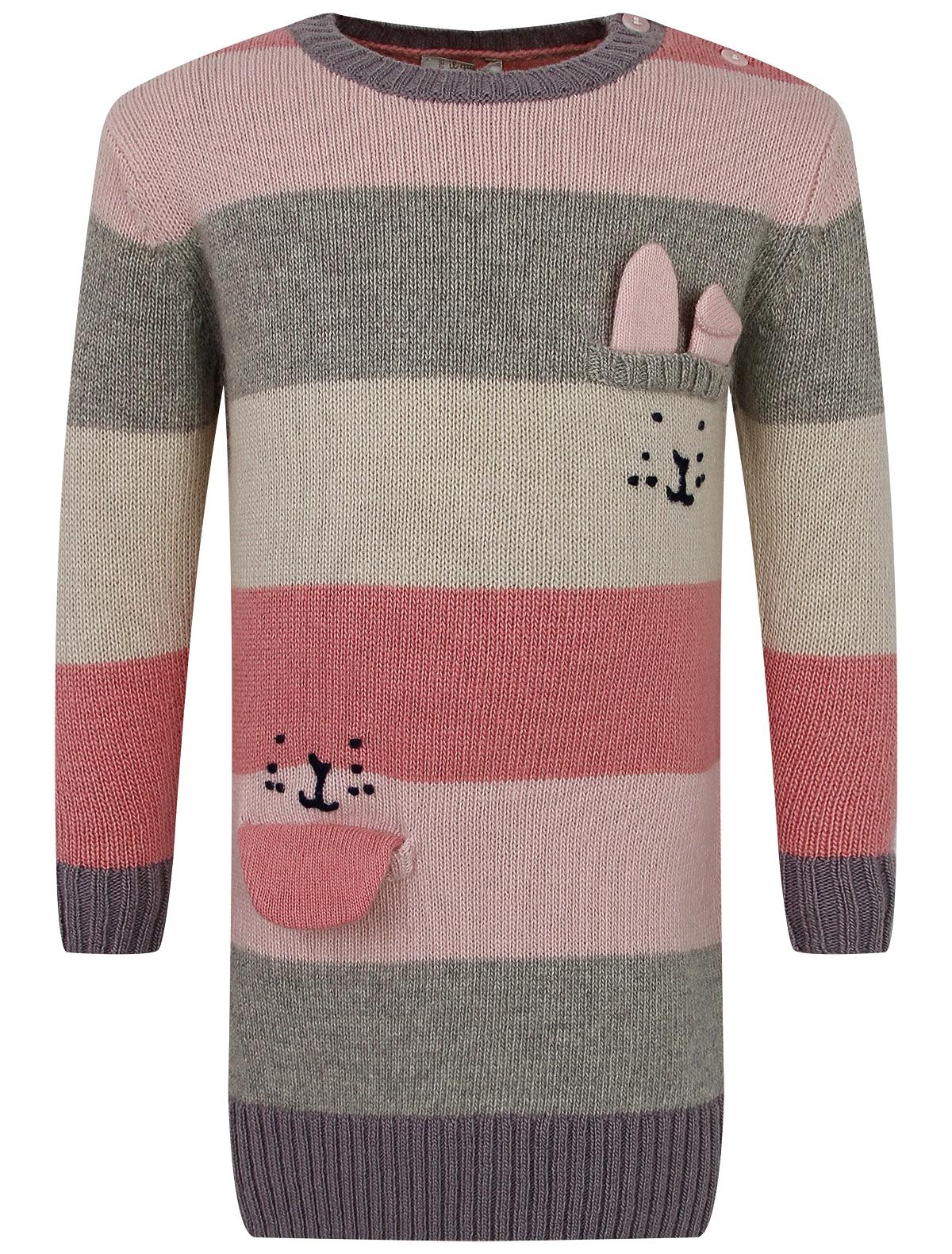 Купить 2263591, Платье Il Gufo, розовый, Женский, 1054609087633