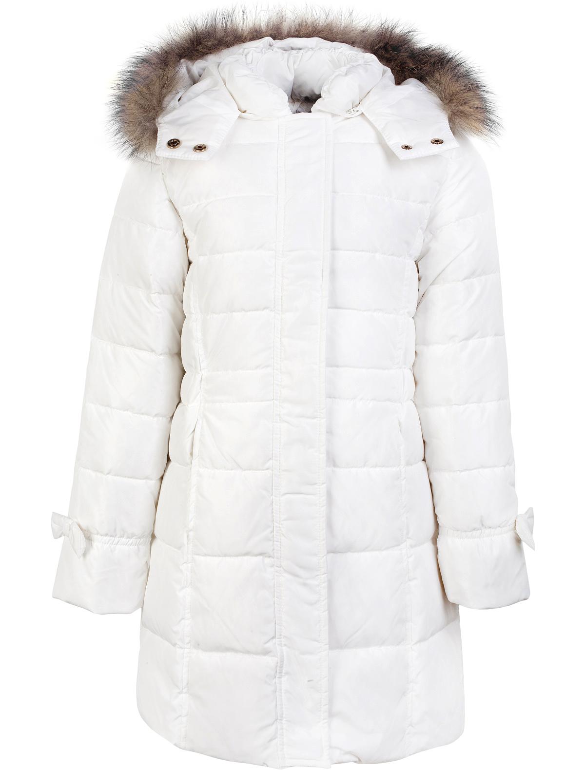 Купить 1879637, Пальто SILVIAN HEACH Kids, белый, Женский, 1121209680035