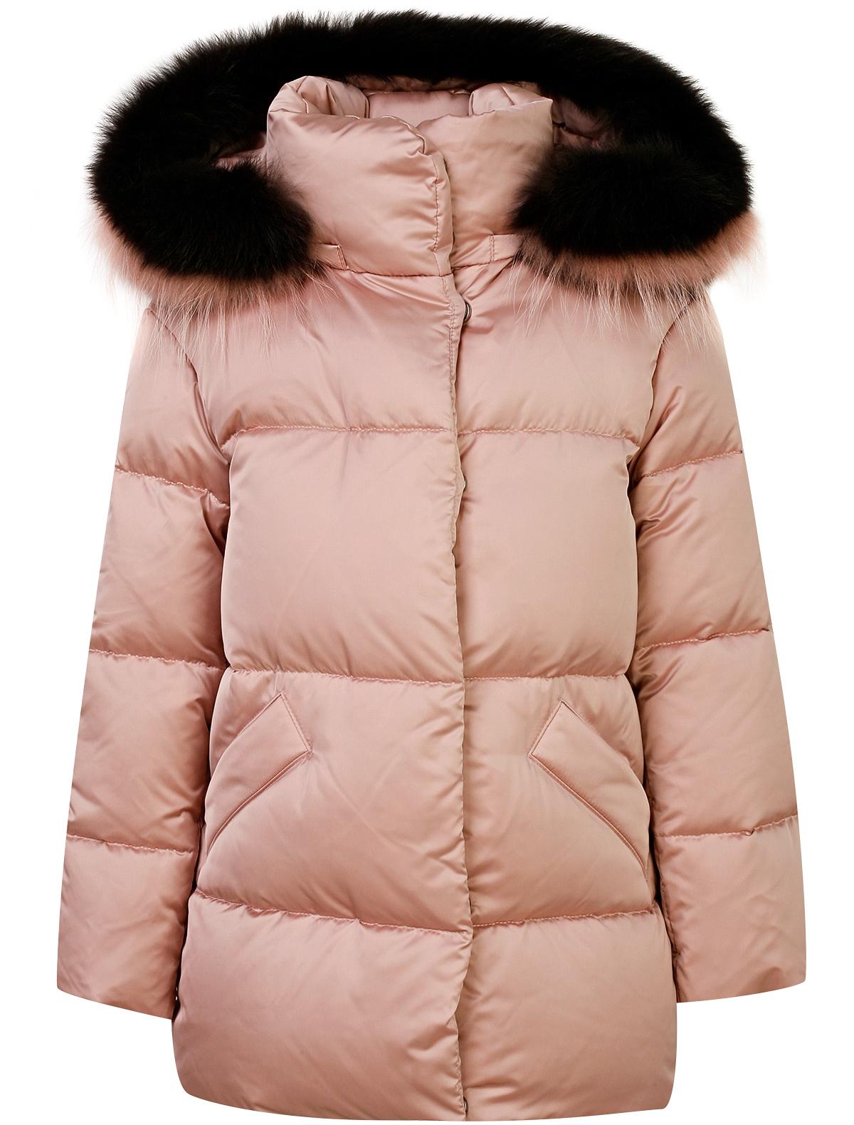 Купить 1874967, Куртка Jums Kids, розовый, Женский, 1072609880245