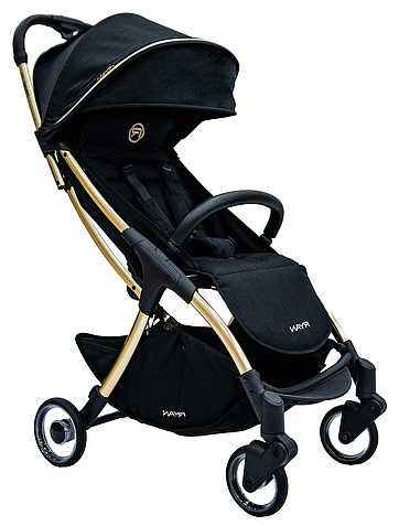 Коляска RYAN PRIME Light Royal Black Gold SE RYAN - 4001129980149 – интернет-магазин Даниэль